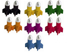 Savage Alloy Anodised Bike Valve Cap Rockets 7 Colours Available SVVP000