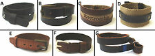 1 NEW ABERCROMBIE & FITCH LEATHER BUCKLE WRISTBAND BRACELET ADJUSTABLE