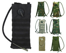 2.5L Molle Hydration Water Bag Pouch Bladder Climbing Hiking Camping Backpack