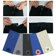 Skirt Trouser Jeans Button WAIST Expanders EXTENDER 3 PACK WEIGHT GAIN PREGNANCY