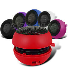 RED 3.5MM RECHARGEABLE SPEAKER FOR NUMEROUS PHONES