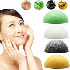 Magic Natural Konjac Konnyaku Facial Puff Face Deep Cleansing Washing Sponge