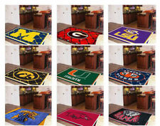 Choose Your NCAA College A-M Team 5' x 8' Decorative Plush Area Rug Floor Mat