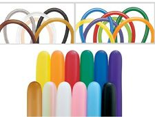 50 Pack Of Qualatex 646Q Modelling Balloons - Assorted Colours