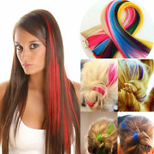 New arrival 20 inches long Colorful Clip In Hair Extension for Women Men