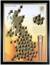 LONDON 2012 OLYMPICS TORCH RELAY PIN BADGE - PLEASE CHOOSE YOUR PIN DAY 1 TO 15