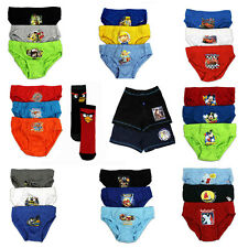 Boys Character Underwear | Character Pants Boxers Briefs & Socks | New