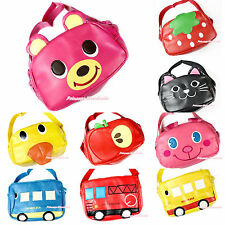 Animal Cat Bear Rabbit Duck School Bus Fire Engine Strawberry Kids Shoulder Bag