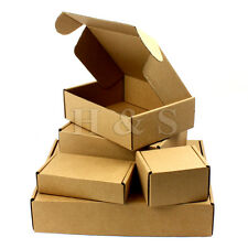 Postal Cardboard Boxes Small Mailing Shipping Cartons Parcel Single Wall C5 A4