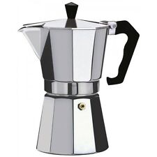 Espresso Stove Top Coffee Maker - Continental Moka Percolator Pot - 2, 6, 9, 12