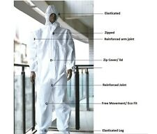 5 Painters Disposable Coverall Boiler Suit Spray Decorators Automotive Spraying