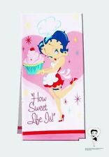 BETTY BOOP KITCHEN TOWELS ASSORTED DESIGNS