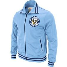 Pittsburgh Penguins Men's Mitchell and Ness Cross Check Track Jacket