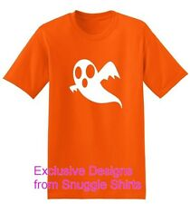 NEW KIDS WOMENS MENS GHOST HALLOWEEN FANCY DRESS COSTUME T SHIRT
