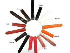 18mm x 11mm NEW 8 color Chosen Genuine leather Watch Band strap Used for Carti~~