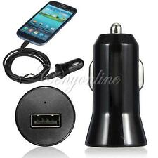 Mini USB Car Charger Adapter For iPhone 5 4 Galaxy S2 S3 S4 I9500 Note 2 HTC LG