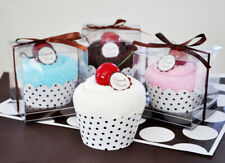 one Sweet Treat Towel Cupcake Party Favor Bridal Shower Baby Shower choice of 1
