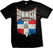 Dominican Republic Dominicana Bandera DR Beisbol FREE SHIPPING New Mens T-shirt