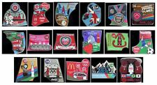 LONDON 2012 OLYMPICS COCA COLA PIN BADGES BULK BUY PURCHASE LIST 2 YOU CHOOSE