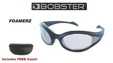 Bobster Sunglasses FOAMERZ Safety Glasses ANSI Z87.1 CLEAR LENS Offroad Shooting
