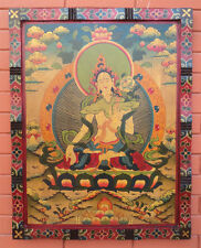 Tibetan & Newar Arts Wooden Thangka Painting from NEPAL