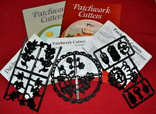 Patchwork Holiday Gumpaste Cutters for Cake Decorating
