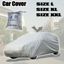 Universal Heavy Duty Sun UV Water Resistant SUV 4X4 Jeep Car Cover Size L XL XXL