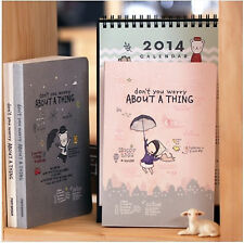 2014 Brand New Pony Brown Undated Diary Planner Organizers + 2 Deco Stickers