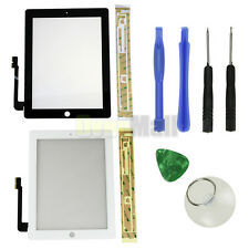 Touch Screen Glass Digitizer Replacement for The New iPad 3 3rd Black / White