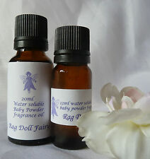 RAGDOLL-FAIRY water soluble BABY POWDER FRAGRANCE oil 12ml or 20ml or multiple