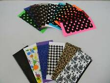 Duct Tape BI-FOLD WALLETS/ Customize Your Own Pattern &Trim/6 Slots/ID Slots