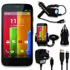 MOBILE PHONE ACCESSORIES FOR MOTOROLA MOTO G 2013 - CABLES CHARGER SCREEN COVERS
