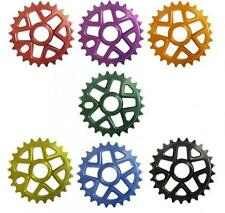Savage BMX Bike Bicycle  Alloy 25 Tooth 6mm Chainwheel 7 Colours SVCW000