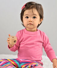 3414 Rabbit Skins Infant Infant Long-Sleeve Tee Basic T shirt
