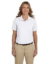 Harriton Polo Shirt Women's Short Sleeve 5 oz Easy Blend M265W Size/Color Choice