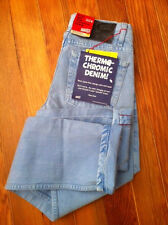 NAKED AND & FAMOUS THERMOCHROMIC WEIRD GUY INDIGO JAPANESE SELVEDGE JEANS $240+