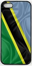 Rikki Knight Tanzania Flag Case for iPhone 4/4s, 5/5s, 5c, 6/6p