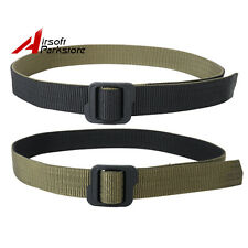 Tactical Outdoor Double-sided Duty Nylon Belt Black & Olive Drab M/L/XL/XXL
