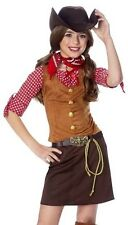 Kids Western Cowgirl Outfit Girls Halloween Costume