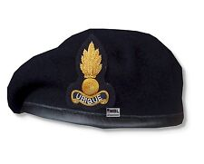 RE - ROYAL ENGINEER OFFICER BERET & BULLION BADGE HIGH QUALITY 54-62 cm