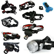 1/19/56 LED CREE Q5 Headlight Flashlight Outdoor Night Strong Zoom Headlamp BE0D