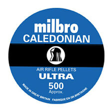 MILBRO CALEDONIAN ULTRA .22 HUNTING AIR RIFLE PISTOL DOMED PELLETS HIGH QUALITY