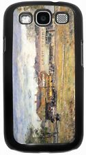 Childe Hassam End of Tram Oak Park Illinois Case for Samsung Galaxy S3 S4 S5