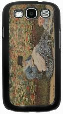 Claude Monet Art Madame Monet and Child Case for Samsung Galaxy S3 S4 S5