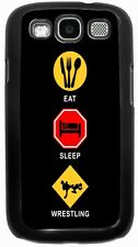 Rikki Knight Eat Sleep Bowling Case for Samsung Galaxy S3 S4 S5