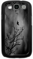Rikki Knight Flying Bird Silhouette in Branches Case for Samsung Galaxy S3 S4 S5