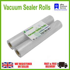 Textured Food Vacuum Sealer Bags Rolls JML Andrew James Sous Vide Choose amount