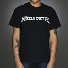 OFFICIAL Megadeth - Classic Logo T-shirt NEW Licensed Band Merch ALL SIZES