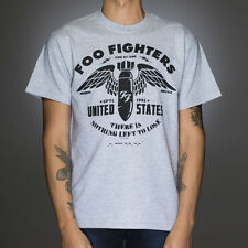 OFFICIAL Foo Fighters - Winged Bomb T-shirt NEW Licensed Band Merch ALL SIZES