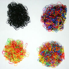 400pcs Ponytail Elastic Hair Rubber hair band wholesale girl baby dog doll small